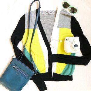 Peter Pilotto x Target Colorblock Knit Cardigan